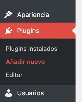 cómo instalar un plugin