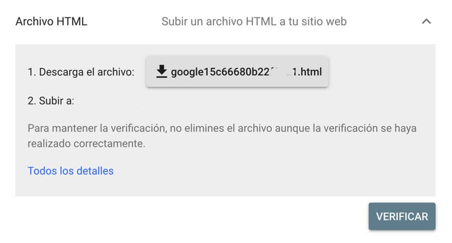 Cómo indexar una web en Google y verificar