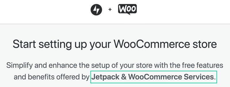 Configurar Woocommerce con Jetpack